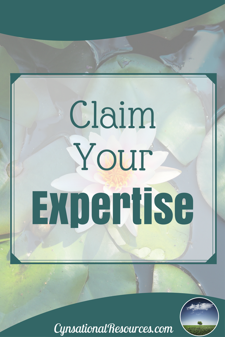 How To Claim Your Expertise