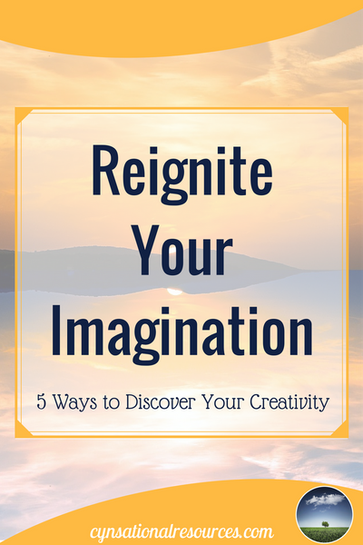 Reignite Your Imagination Pin