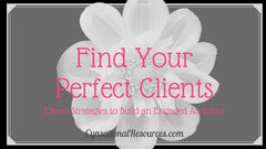 FInd Your Perfect Client
