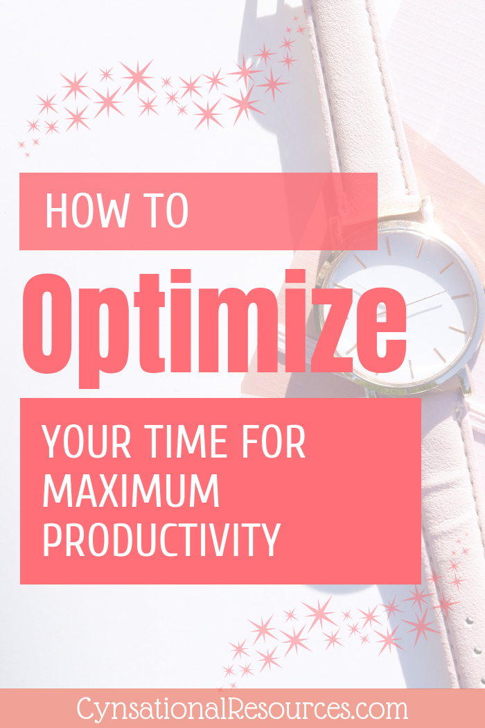How to Optimize your Time for Maximum Productivity pin1