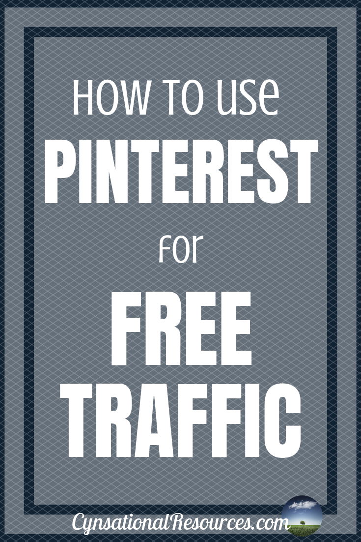 How to use Pinterest for FREE Traffic