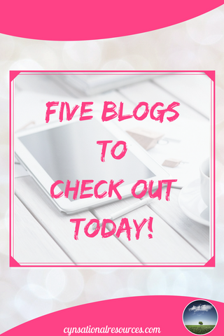 Five Blogs to Check Out Today