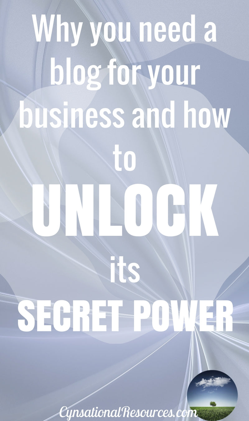Unlock the Power of Your Biz Blog