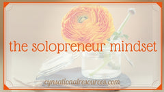 The Solopreneur Mindset