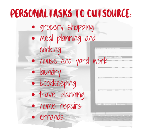 Personal Tasks to Outsources