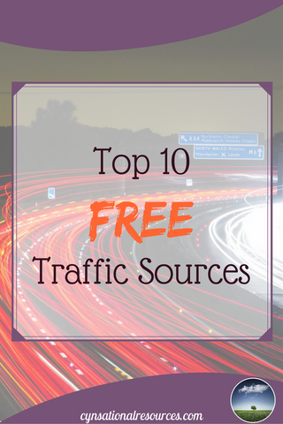 Top 10 Free Traffic Sources