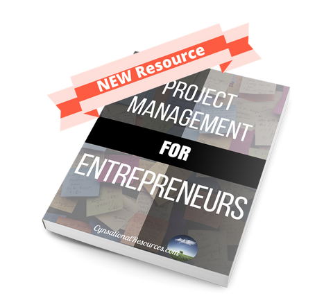 Project Management for Entrepreneurs - Cynsational Resources