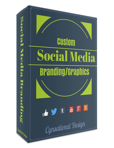 Social Media Graphics Package | Cover Art | Social Media Graphics | 2 Accounts - Cynsational Resources