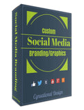 Social Media Graphics Package | Cover Art | Social Media Graphics | 4 Accounts - Cynsational Resources