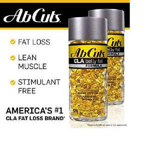 AbCuts CLA Belly Fat Formula, 240 Softgels