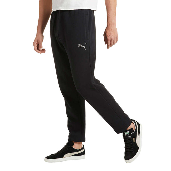 PUMA Men's Heavyweight Fleece Jogger (Black, L)