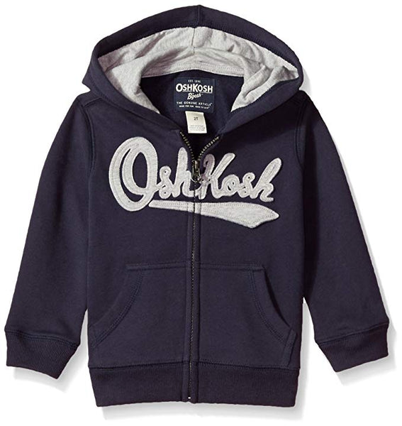 OshKosh B'Gosh Boys' Full Zip Logo Hoodie