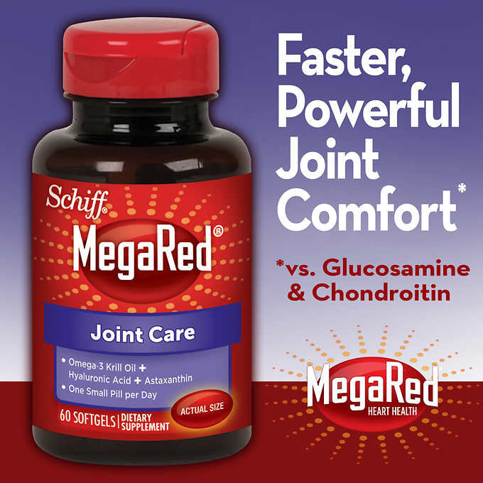 Schiff® MegaRed® Joint Care, 60 Softgels
