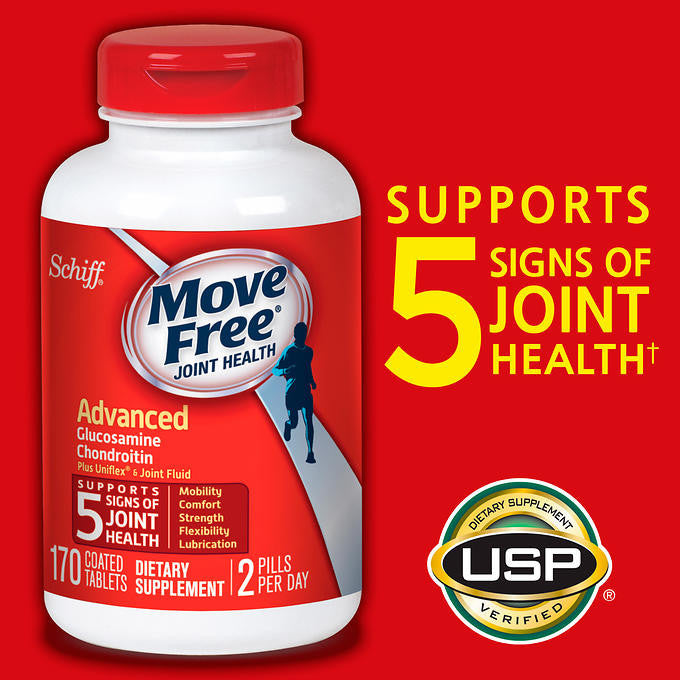 Schiff® Move Free® Advanced, 170 Tablets