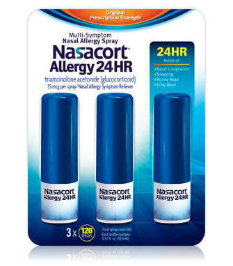 Nasacort Allergy 24HR, 360 Spray Count