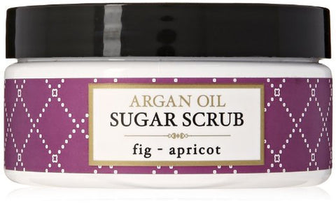 Deep Steep Argan Oil Sugar Scrub,  8 Ounce