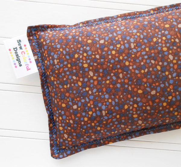 Brock:Flax Seed Hot/Cold Pack | Microwavable Heating Pad and Ice Pack - SALE - Sew Colorful Designs