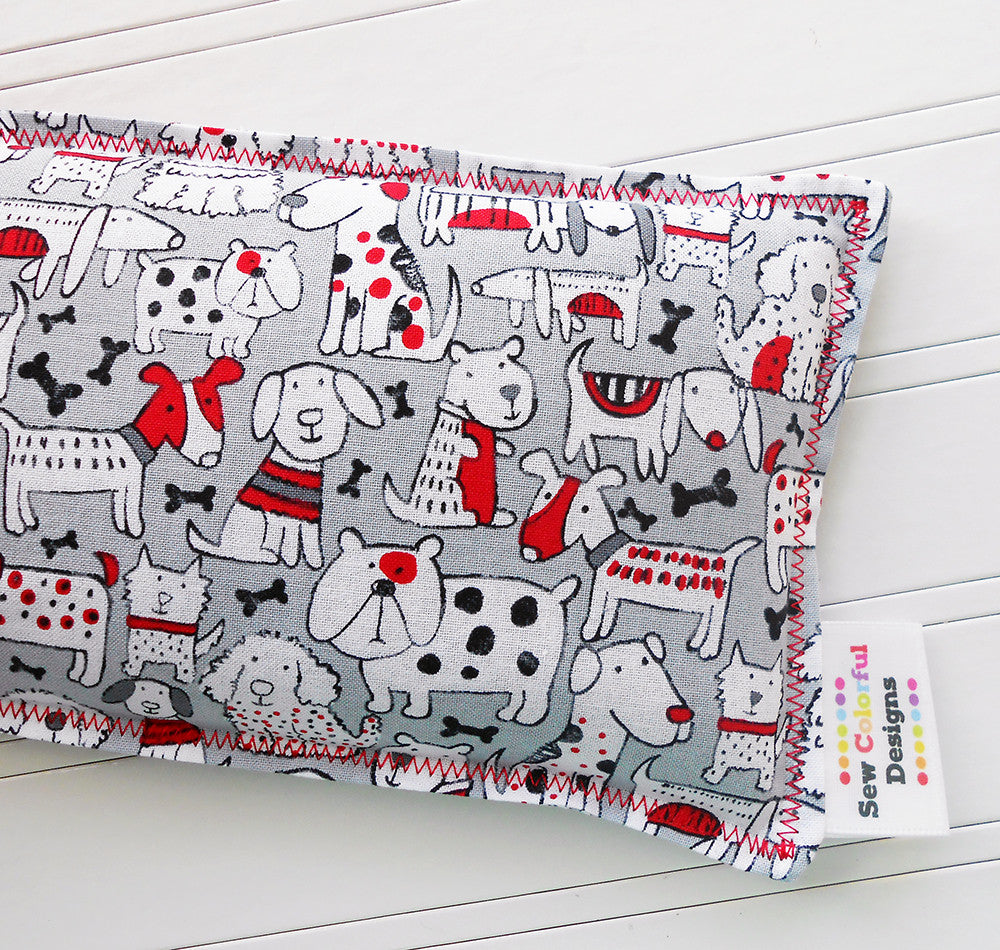 Fidos: Flax Seed Hot/Cold Pack | Microwavable Heating Pad and Ice Pack - Sew Colorful Designs