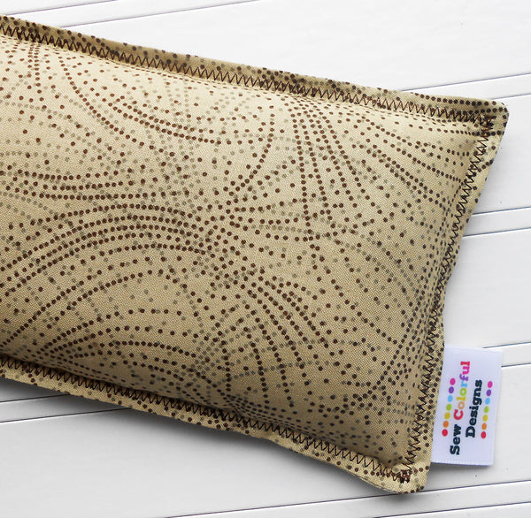 Samson: Flax Seed Hot/Cold Pack | Microwavable Heating Pad and Ice Pack - Sew Colorful Designs