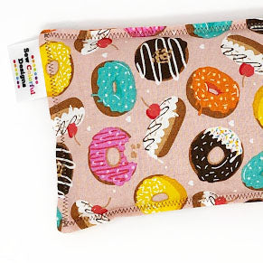 Dippy Donuts: Flax Seed Hot / Cold Pack | Microwavable Heating Pad and Ice Pack