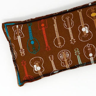 String Band: Flax Seed Hot / Cold Pack | Microwavable Heating Pad and Ice Pack