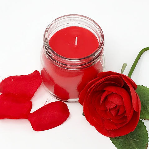 Rose Petal Gelato: Soy Blend Candle - 7.5oz Hand-Poured