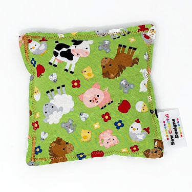 Farm Friends: Flax Seed Hot / Cold Pack | Microwavable Heating Pad and Ice Pack