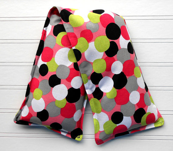 "Microwave Heating Pad and Ice Pack ""Cherry Limeade"" - Sew Colorful Designs"