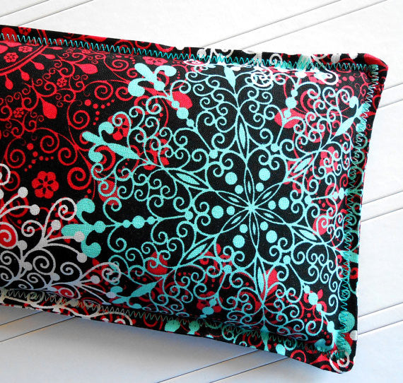 Celebration: Flax Seed Hot/Cold Pack | Microwave Heating Pad and Ice Pack - Sew Colorful Designs