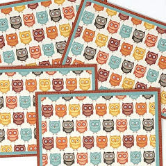 Owl Pals: Blank Notecard Set, 4 Different Cards with Matching Embellished Envelopes
