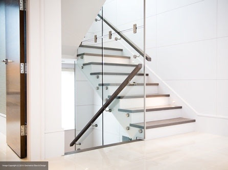 Glass Staircase Installation Photo Gallery