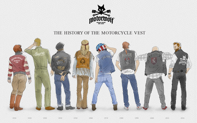 The History of the Motorcycle Vest