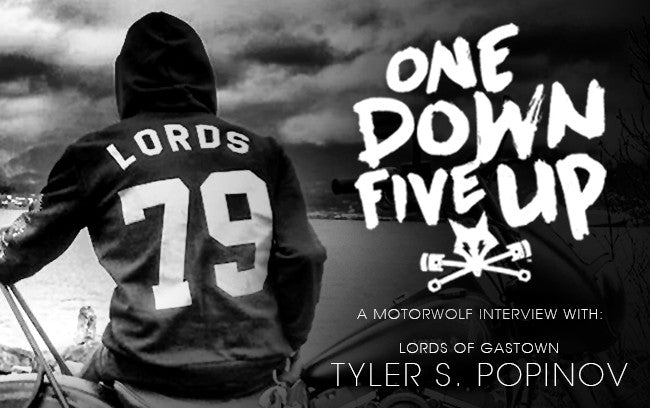 1 Down 5 Up:  An interview with Tyler S. Popinov