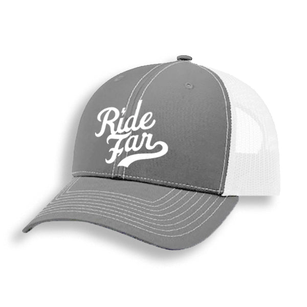 Ride Far Trucker Hat - Arctic Grey Special Edition