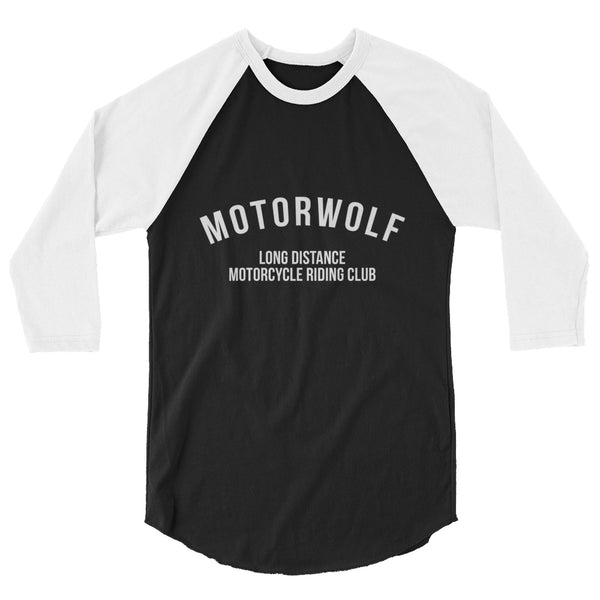 Motorwolf LD/RC - 3/4 sleeve raglan shirt