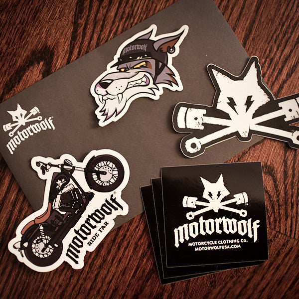 Motorwolf Sticker Pack