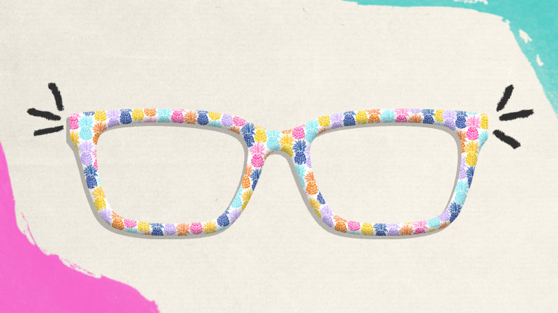 Let's Flamingle - Party Pineapples Top Frames for the Larkin
