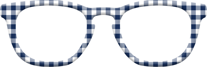 The Navy Gingham