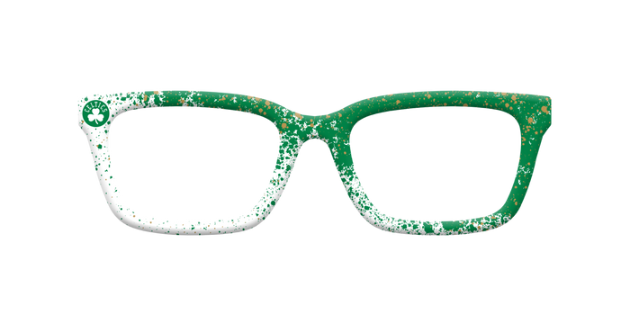 Celtics Splatter