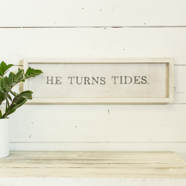 """He turns tides"""