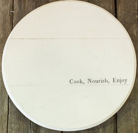 """Cook, Nourish, Enjoy"""