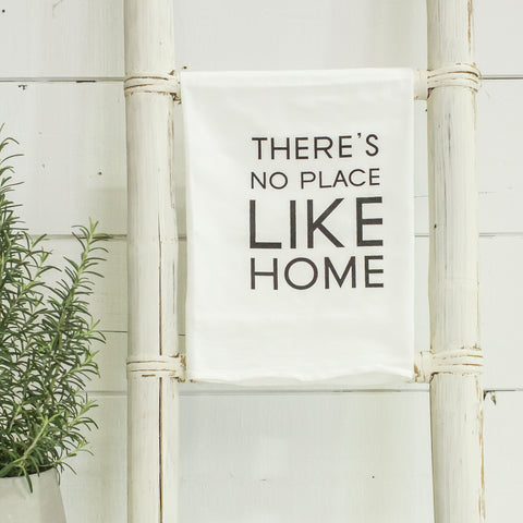 """There's no place like home"" tea towel"