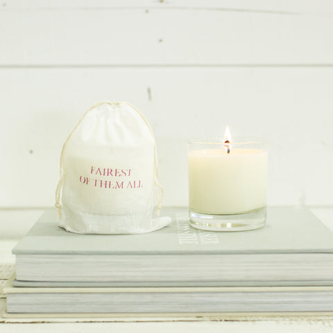 """fairest of them all"" Candle"