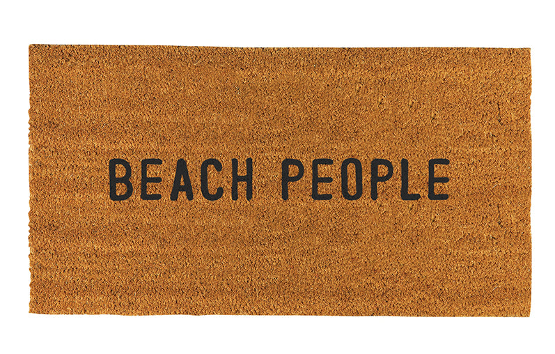 """BEACH PEOPLE"" DOORMAT"