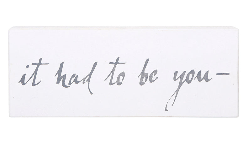 """IT HAD TO BE YOU"" SMALL CASE BOARDS"