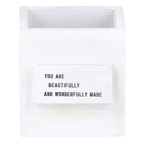 """you are beautifully and wonderfully made"" Nest Box"
