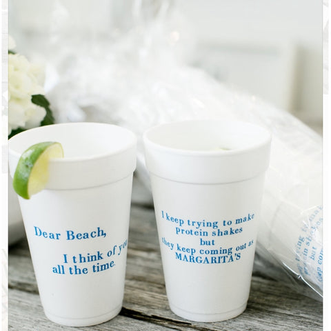 Styrofoam cups- set of 10