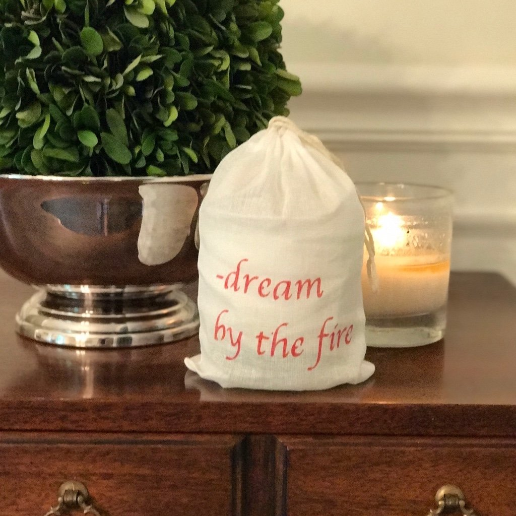 """dream by the fire"" candle"