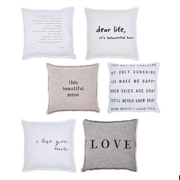 """F2F Large Euro Pillow Collection"" Euro Pillow"