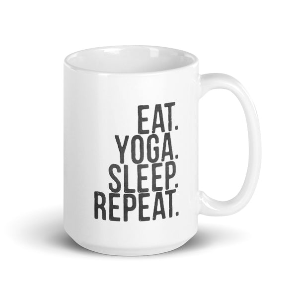 Eat Sleep Yoga Repeat